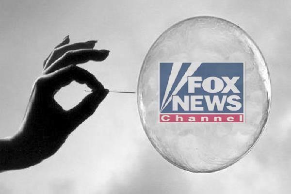 Fox news bubble, fox news