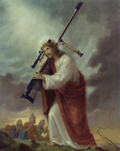 god, guns