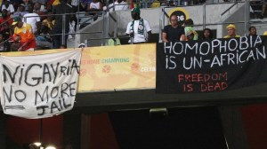 nigeria, gay protests