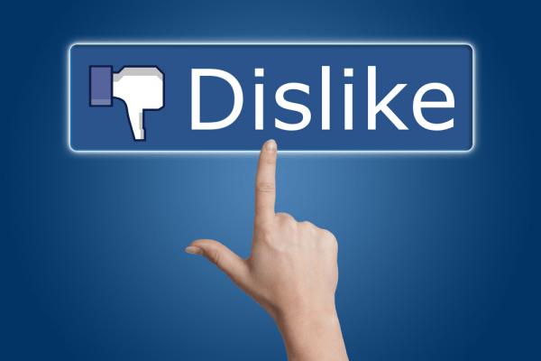 bloggers, facebook, dislike