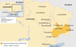 Separatist-Controlled Regions of Ukraine