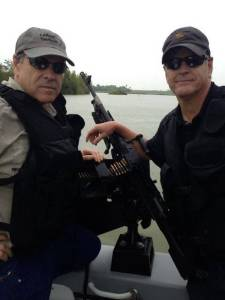Rick Perry & Sean Hannity, a-hunting refugees.