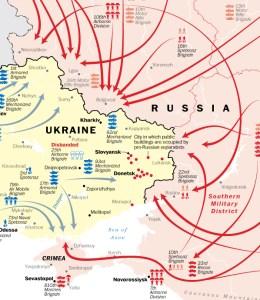 Tactical Situation before Ukrainian Advances