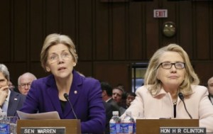 Elizabeth Warren & Hillary Clinton