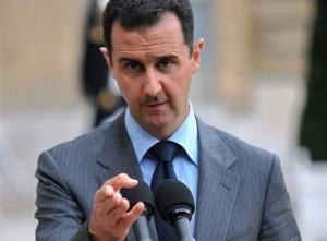Syrian President in Paris, Syria