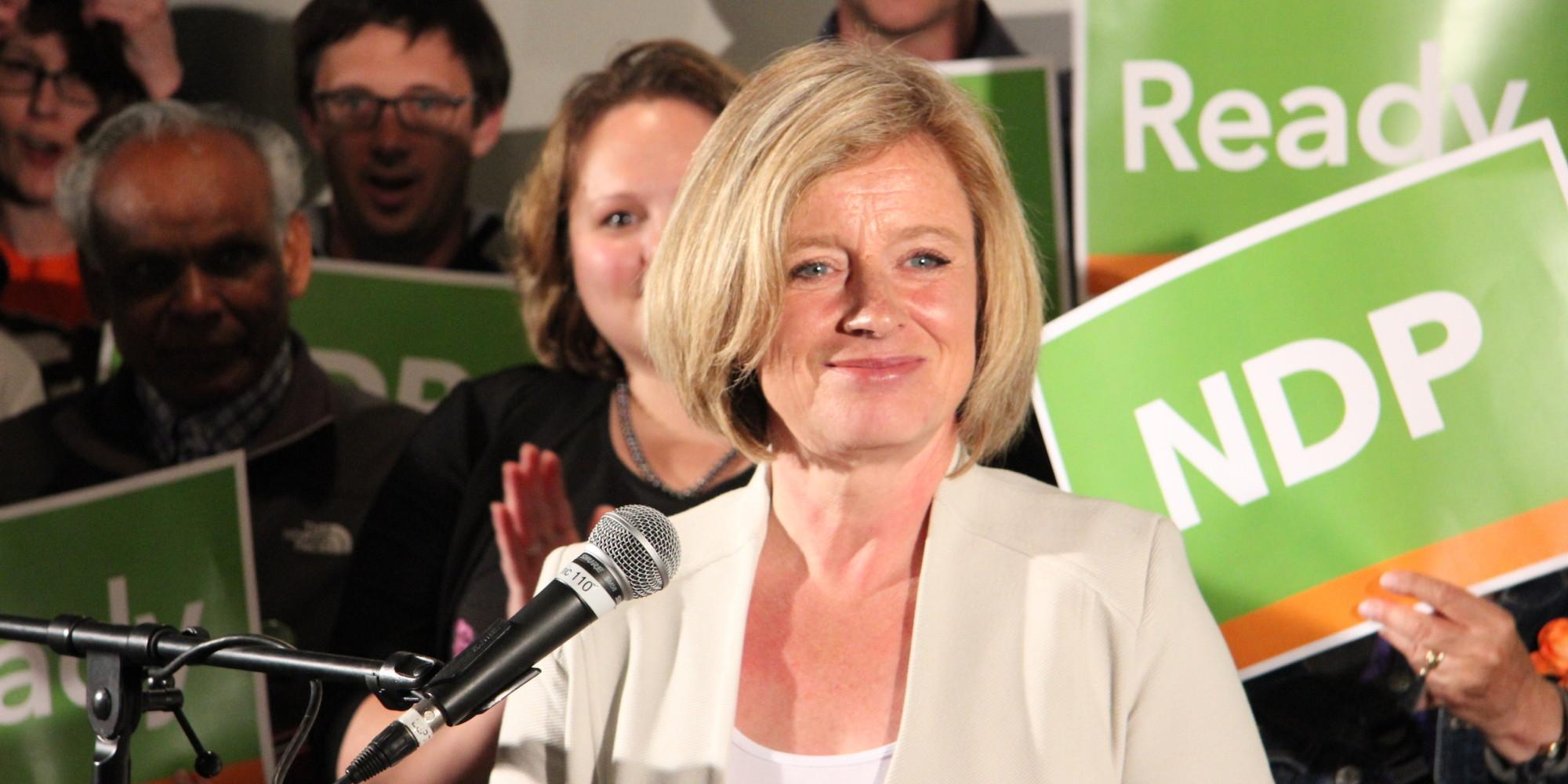 Rachel Notley, alberta election