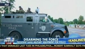 disarming the police