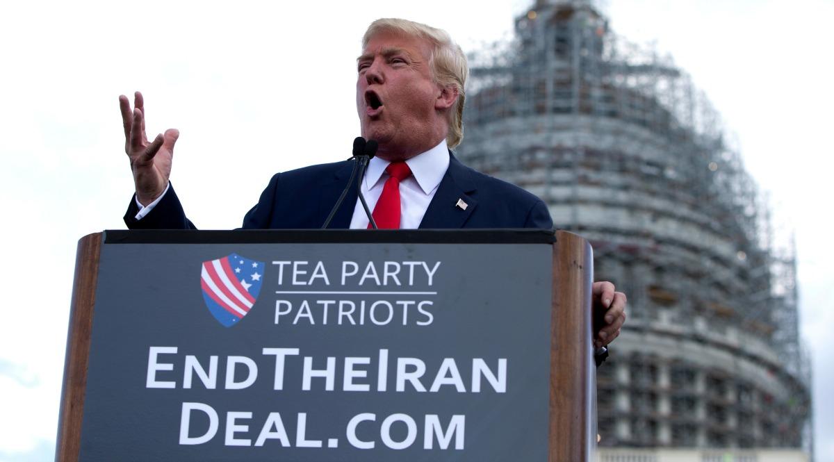 war with iran, donald trump