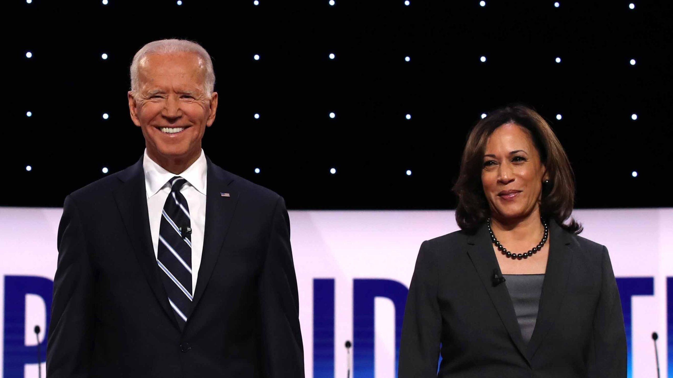 white male voters, Joe Biden, Kamala Harris