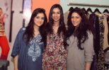 Sana, Nooray & Mahra at PFDC High Street Store Launch 2013
