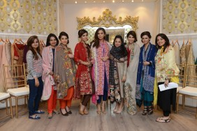 The Nida Azwer Team with all the models [F]