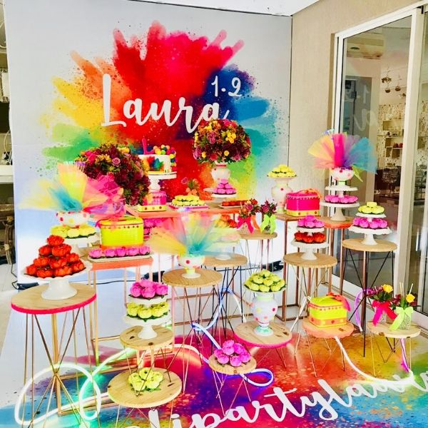 Totally Awesome Colorful Neon Party