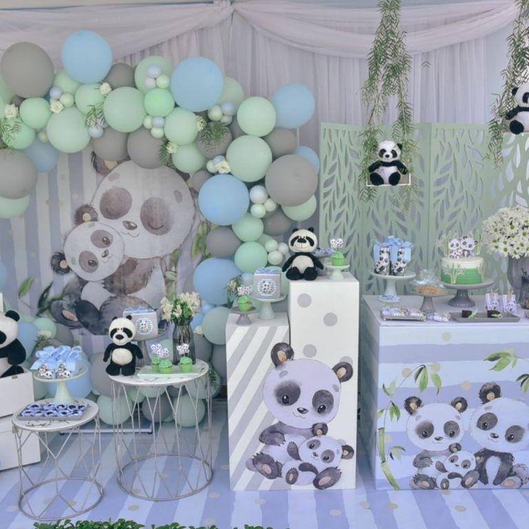 Adorable Baby Panda Birthday Party Ideas
