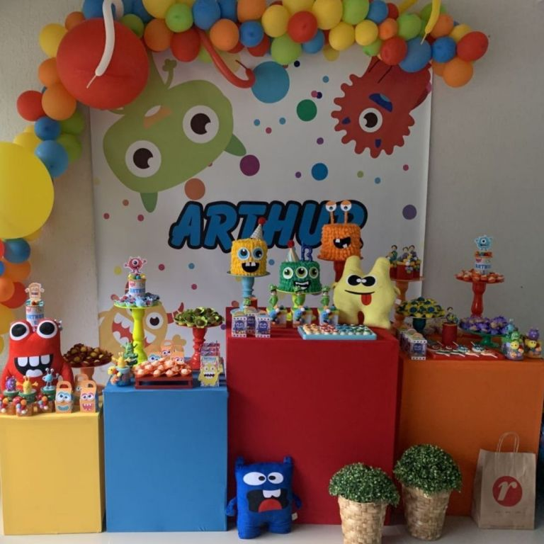 Adorable Little Monster Party