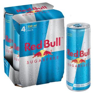 Red Bull Sugarfree 4x250ml