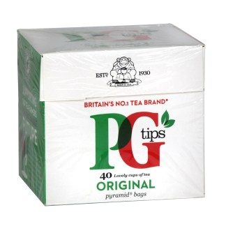 PG Tips Pyramid Teabags 40s