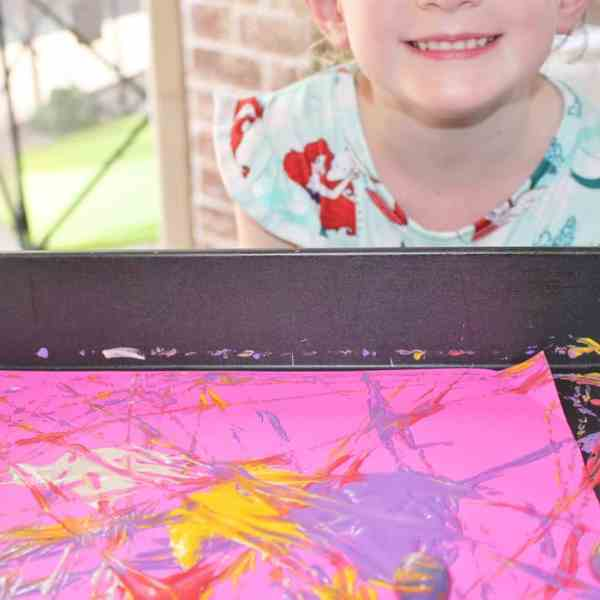 marble painting craft for kids