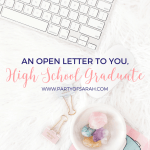 An Open Letter to You, High School Grad