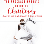 The Procrastinator's Guide to Christmas