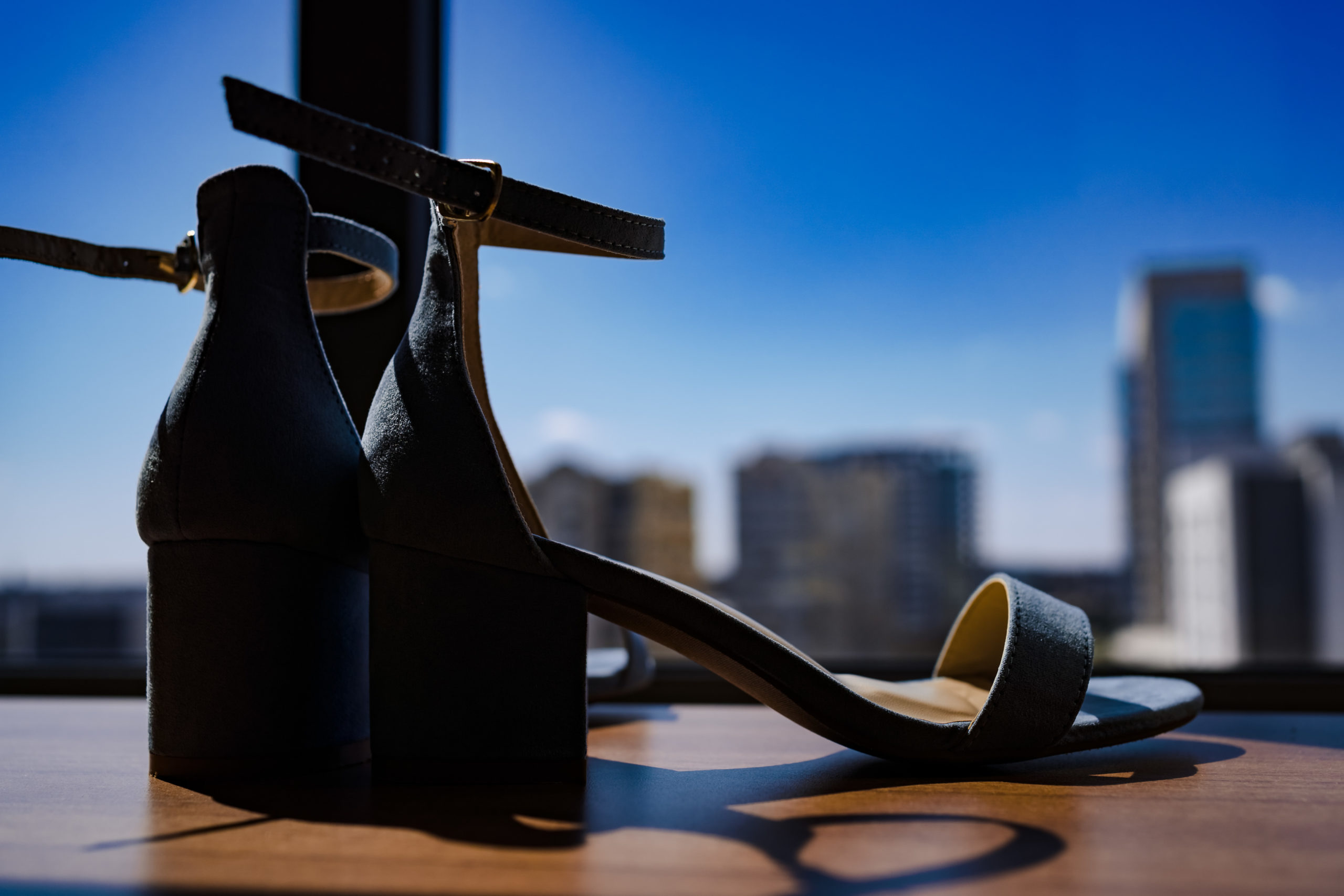 Wedding Shoes in Uptown Charlotte