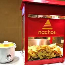 Nachos Cheese Chips Station
