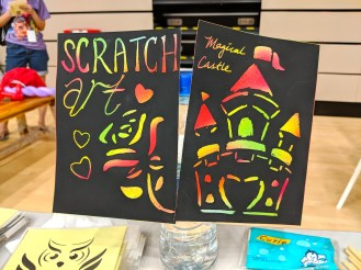 Scratch Art Activity