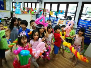 Balloon Sculptures for Birthday Party Singapore