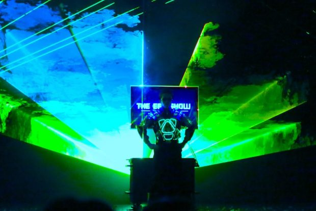 EFX Laser Show for hire Singapore