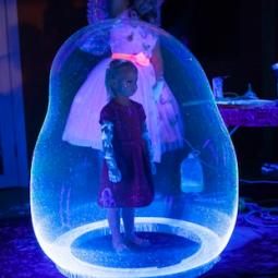 Neon Bubble Show