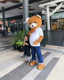Roving Bear Mascot