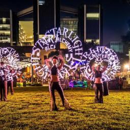 Visual LED Light Show
