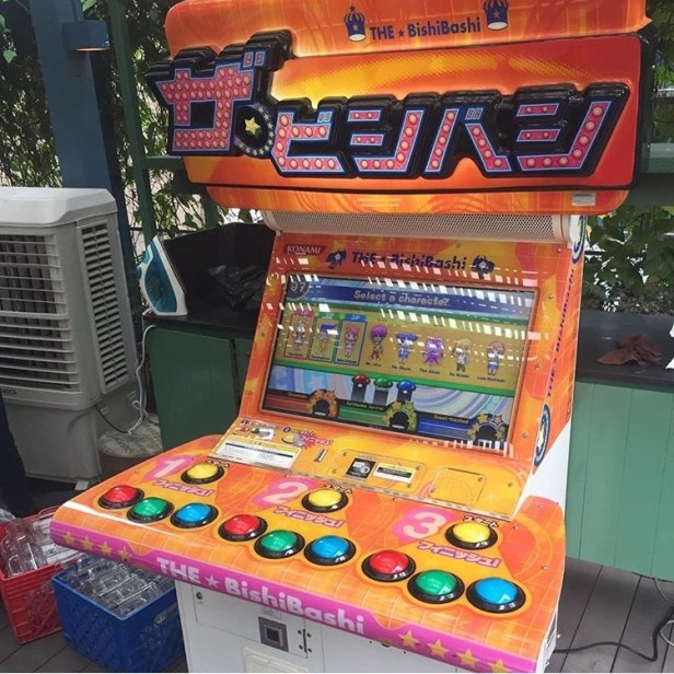 Bishi Bashi Arcade Machine Rental
