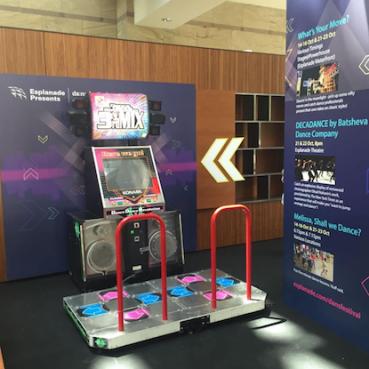 DDR Arcade Machine