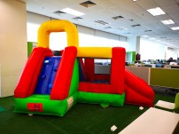 Double Slides Bouncy Castle Rental