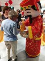 Interactive Cai Shen Ye Mascot