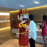 Rent God of Fortune Mascot