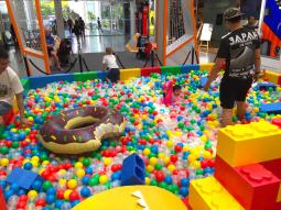 Ball Pit in Shopping Mall Singapore