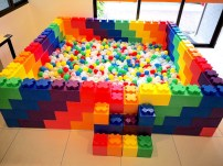 Colourful Ball Pit Rental Singapore