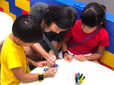 Keychain Shrink Art Activtiy for Kids