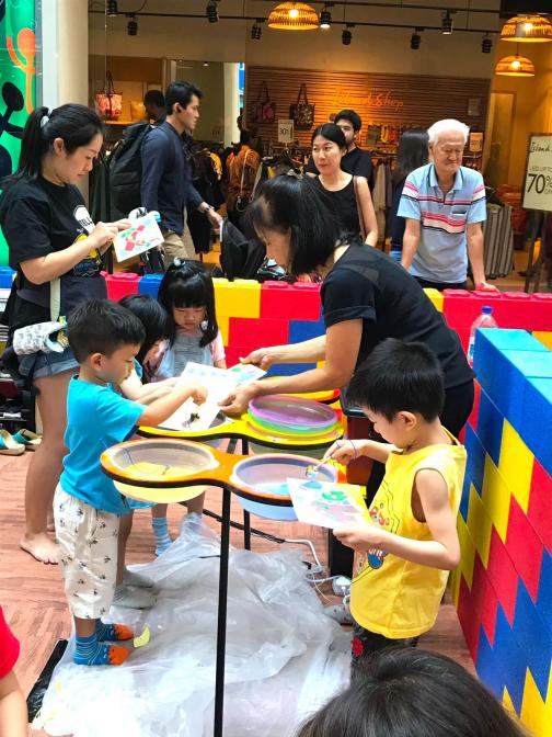 Kids Sand Art Station Singapore