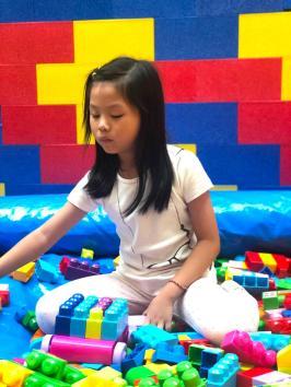 Mega Lego Bricks Playground for Hire