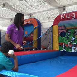 Sports Theme Inflatable Game Rental Singapore