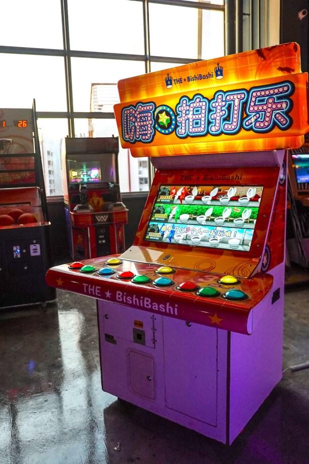 Bishi Bashi Arcade Game Singapore