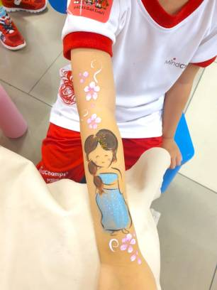 Princess Hand painting Singapore