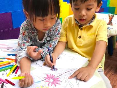 Kids Colouring Corner