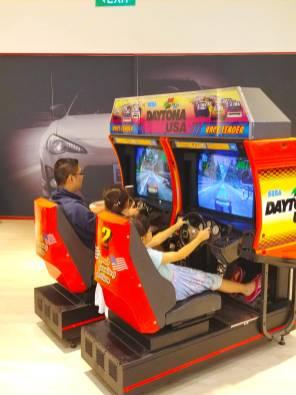 Retro Daytona Arcade Rental