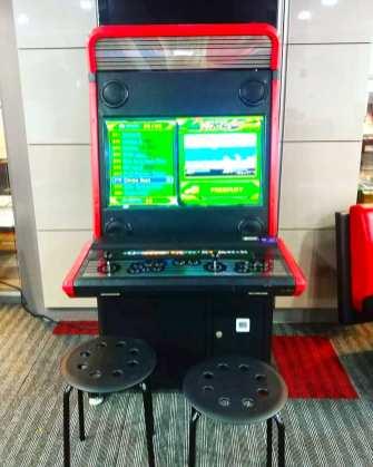 Retro Video Game Machine