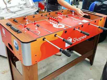 Customise Soccer Table Rental Singapore