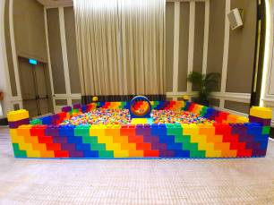 Giant Lego Ball Pit Rental in Singapore