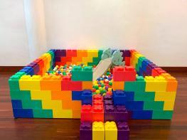 Small Lego Ball Pit Rental Singapore